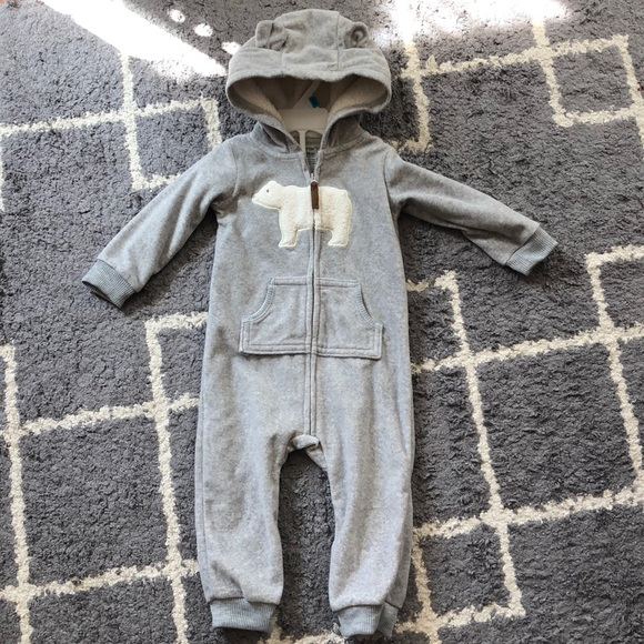 Carter's Other - NWOT Carter's polar bear 🐻 baby onsie 18M